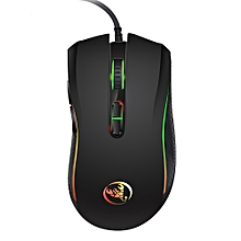 A869 Wired Gaming Mouse 3200DPI 7 Buttons 7 Color LED Optical Computer Mouse Player Mice Gaming Mouse for Pro Gamer