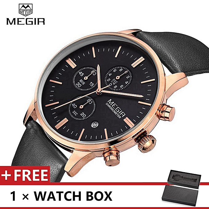 933bb7c8cc68c Top Luxury Brand Watch Famous Fashion Sports Men Quartz Watches Leather  Wristwatch For Male