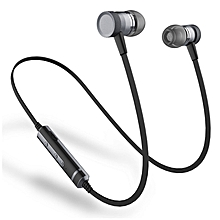 Picun H6 Wireless Bluetooth Earphone Magnetic Bass IPX4 Waterproof Sports Headset Earphones With Mic