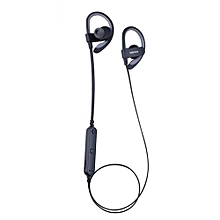 iL98BL Bluetooth Wireless Headphone Sport Ear hanging headsets Magnetic Earbuds for Running - Black