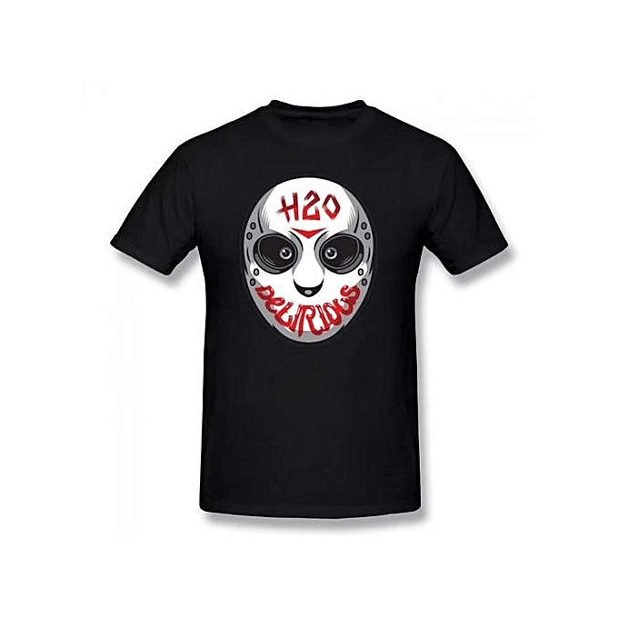 H2o Delirious Logo Summer Basic Casual Short Cotton T-Shirt(Regular And Big  And Tall Sizes Included)