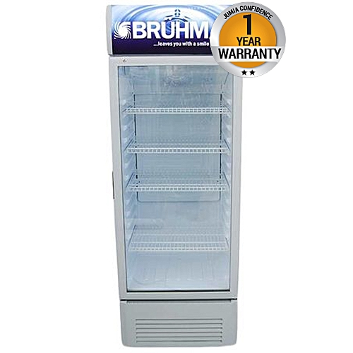 BFV-300SD - Beverage Cooler - 10.8Cu.Ft - 280 Litres - Grey