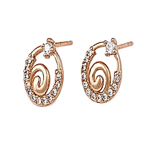 Gold  Coated Earring  with Studs L