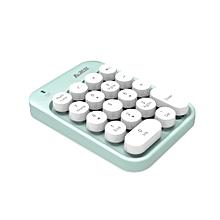Ajazz 2.4G Wireless Numeric Keyboard Mini Numpad 18 Keys Digital Keyboard for Window XP Win7 8 10 ios Laptop PC Notebook Desktop