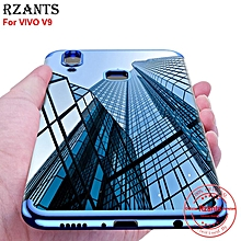 Rzants For VIVO V9 Case【Plating】Hybrid Protective Soft Clear Ultra-thin light Soft Back Case