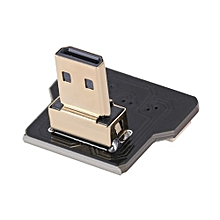CY CYFPV Micro HDMI Type D Male Down Angled 90 Degree Connector for FPV HDTV Multicopter Aerial Photography
