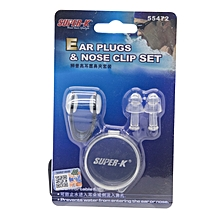 Ear Plugs & Nose Clip Set: 55472: Super-K