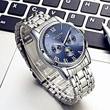 WLISTH Men Watches Luxury Top Brand Men Gold Watch Relogio Masculino Military Army Analog Quartz Wristwatch Black White Blue 509