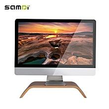 SAMDI Laptop Computer Notebook Wood Stand Holder Desk Support for iPad MacBook