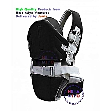 Single strap Baby Carrier With a Hood Black