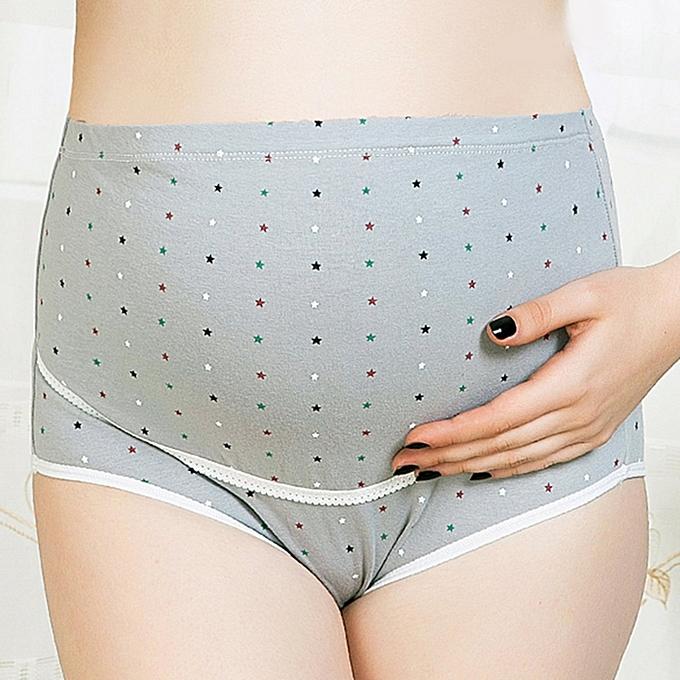 7cf6191a6a10f Cotton Pregnant Women Panties Adjustable High Waist Maternity Underwear