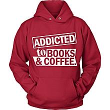 Red Addicted Coffee Hoodie