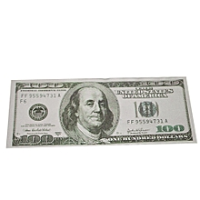 100PCS Dollar Bill Souvenir Banknote Commemorative Banknotes Realistic Fake Play Money With U S Characteristics Real Looking Double-Sided Printing for Movie Advertising Novelty Magic Props (Type 1)