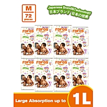 Diaper, Medium - Size 3 (6-9kgs) - 9 PACK (COUNT 72)
