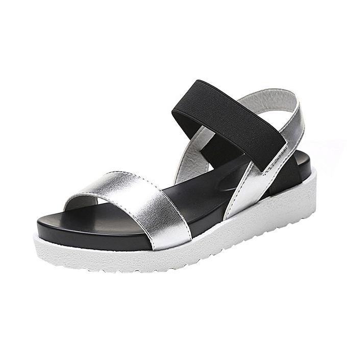 d2f6ed4da26 Tectores Fashion Sandals Women Aged Leather Flat Sandals Ladies ShoesGift