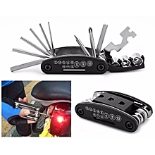 15 In 1 Multi-function Bicycle Repair Tool Set Cycling Necessary Outdoor
