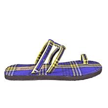 Ladies Shuka Sandals-Multicolored/Blue