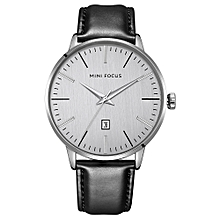Fashion  Leather Men Watches 3ATM Water-resistant Quartz Casual Man Wristwatch Male Relogio Musculino