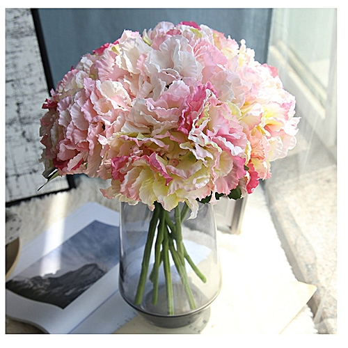 Buy Allwin Artificial Silk Fake Flowers Hydrangea Peony Bridal