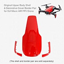 Body Shell Decorative Cover Border Pair for Mavic AIR FPV Drone RC Quadcopter