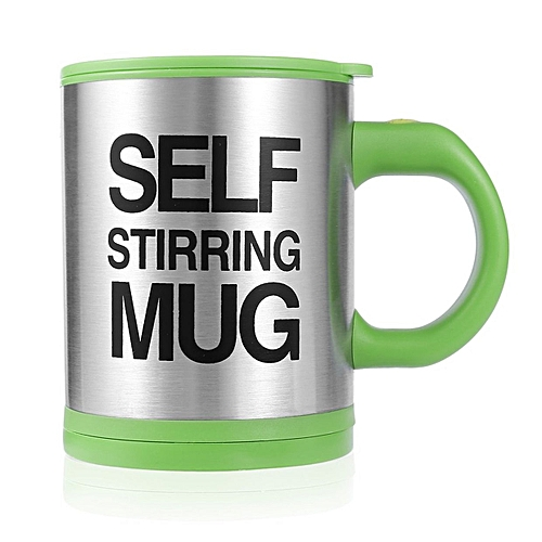 712df8d8e65 Stainless Lazy Self Stirring Mug Auto Mixing Tea Coffee Cup Office Home  Gifts
