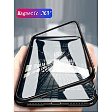 iPhone X/8/8Plus/7/7Plus/6S/6SPlus/6/6Plus Phone Case 360 Degree Magnetic Protection Personality Shatter-Resistant Cover____IPHONE 6/6S____red