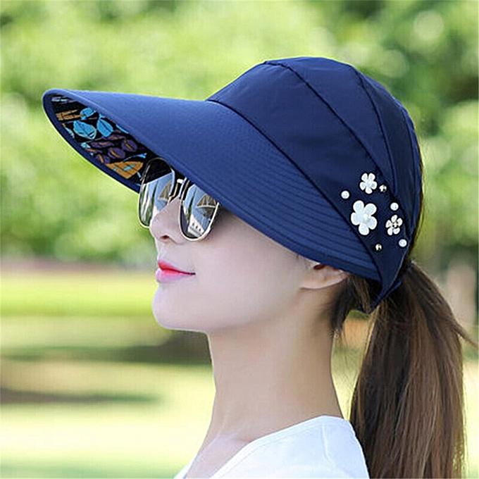 057f37d6 Sun Hats for Women Visors Hat Fishing Fisher Beach Hat UV Protection Cap  Black Casual Womens