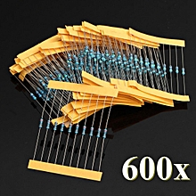 2pcs New Resistors Metal Film 300 Pack, 10 each 30 values 1/4w 1% Kit/Assortment Chip Set