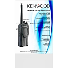 Kenwood Walkie Talkie TK-3207 UHF FM Transceiver WWD