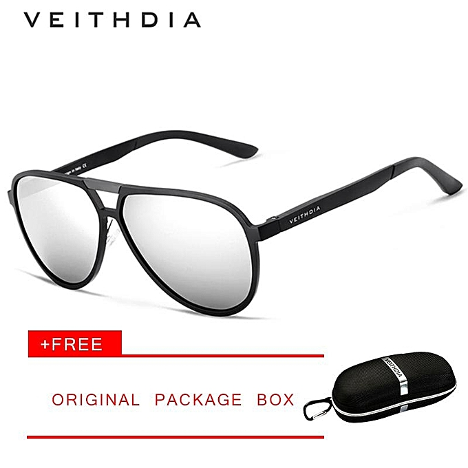 8f5ba54c81c VEITHDIA Brand Mens Aluminum Magnesium Sunglasses Polarized UV400 Lens  Eyewear Accessories Male Sun Glasses for Men