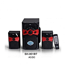 SH-801BT 2.1 Multimedia Subwoofer With Bluetooth