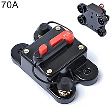 70A DC 12-24V Car Audio Stereo Circuit Breaker Automatic Reset Fuse Holder