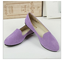 Women Flat Shoes light purple