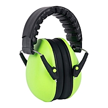 Earmuffs Noise Soundproof Ear Protectors for Travel Sleep Reduction Green