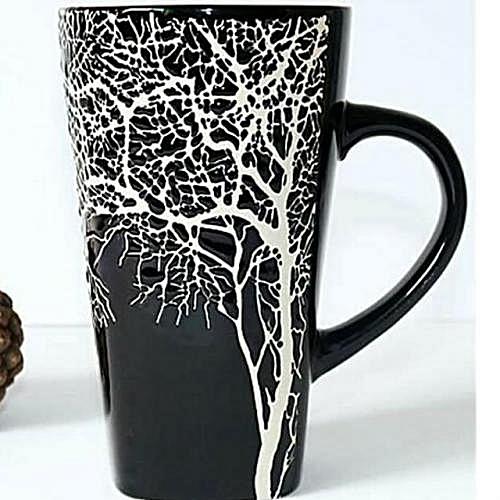 Latte Mug - Black Branch