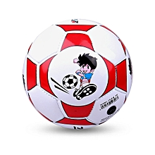 Size 2 Standard PU Leather Soccer Ball Training Football With Net Needle