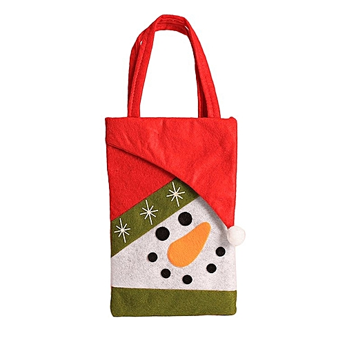 Generic Non Woven Fabrics Children Candy Bags Christmas Gift Bag For Multi Color Mixed