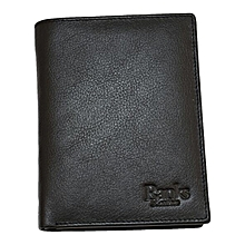 Mens pure leather wallet- modern type