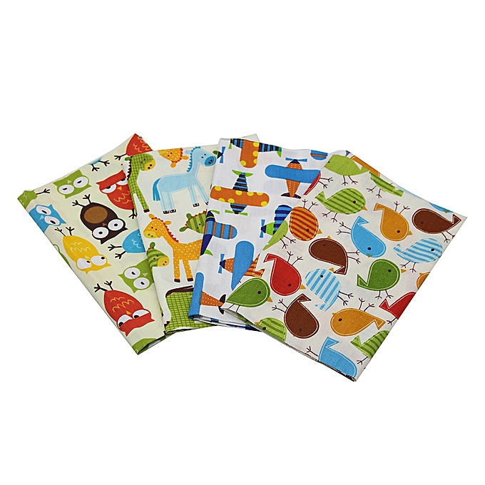 Buy Generic Floral Plaid Fabric Cotton For Sewing Patchwork Wallet ...