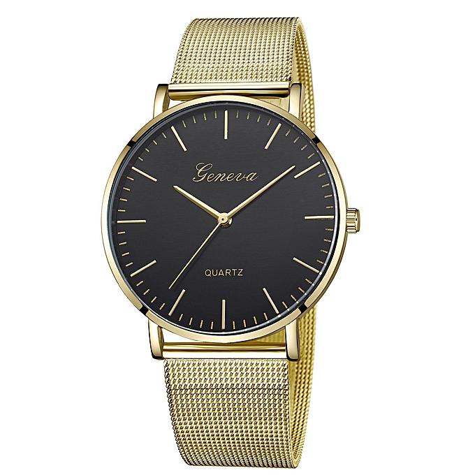 Geneva Womens Clic Quartz Stainless Steel Wrist Watch Bracelet Watches