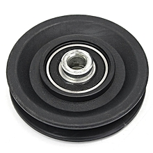 "3.5""/90MM Universal Nylon Bearing Pulley Wheel Cable Gym Fitness Equipment Part"