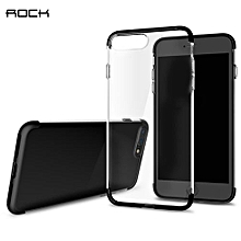 Cheer Series Case Transparent TPU Protective Shell For IPhone 7 Plus - Black