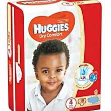 Dry Comfort, Size 4 (8-14Kgs), Count 18