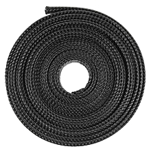 20 FT Black Expandable Wire Cable Sleeving Sheathing Braided Loom Tubing 15mm