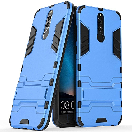 brand new 9497d 7a712 Huawei Mate 10 Lite Case, Huawei Mate 10 Lite Hybrid Case, Dual Layer  Shockproof Hybrid Rugged Case Hard Shell Cover with Kickstand for 5.9''  Huawei ...