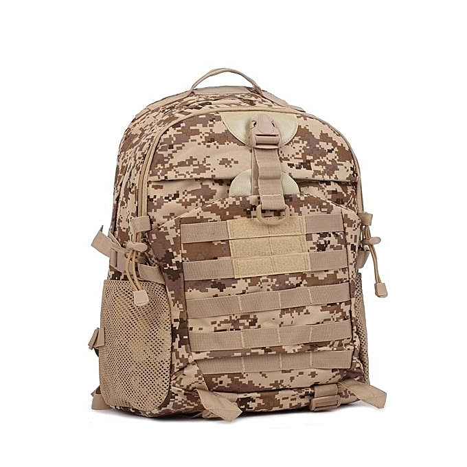b4f5dbfb1ad3 FAITH PRO 35L Men s Tactical Camping Hiking Backpack Camouflage Waterproof  Mountaineering Bags  khaki ...
