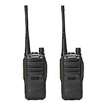 2Pcs BAOFENG S88 400-470MHz Transceiver Two Way Radio Walkie Talkie CTCSS CDCSS Voice Control EU