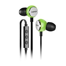 Edifier P293 High Quality In Ear Cell / Mobile Headphones (Green)  SEEDPGAN