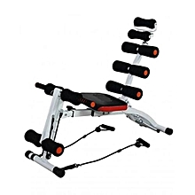 Abdominal Six Pack Care Bench - Black & Orange