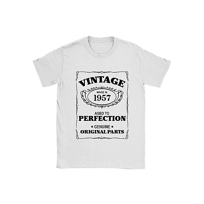 Aged To Perfection Mens 1957 T Shirt